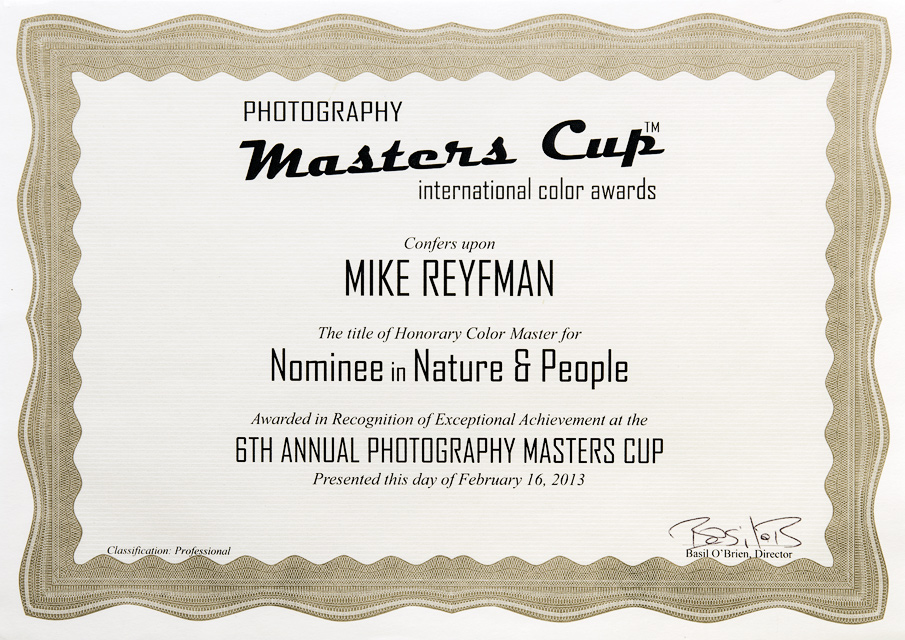 MasterCup-MikeReyfman-Nomenee-in-Nature-and-People-2013_Signed-February-2013